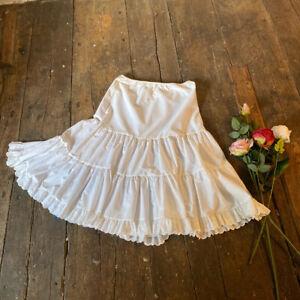 vintage cotton petticoat Size 14