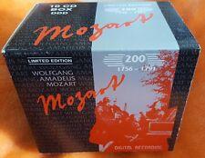 WOLFGANG AMADEUS MOZART 10 CD ONYX CLASSIX COLLECTION BOX SET