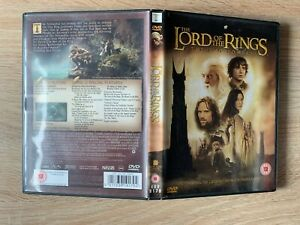 The Lord of the Rings: The Two Towers DVD (2003) Christopher Lee B14BR
