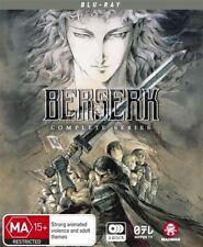 Berserk (Blu-ray, 2016, 4-Disc Set)