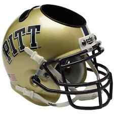 PITTSBURGH PANTHERS PITT NCAA Schutt Mini Football Helmet DESK CADDY