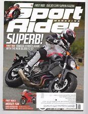 Sport Rider Magazine September 2014- Yamaha FZ-07, Ducati Monster 821