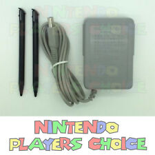 Nintendo AC Power Adapter Charger + 2 Stylus for NEW Nintendo 3DS XL