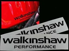 Walkinshaw Engine Decals VE HSV Engine Cover Replacements Black In Colour