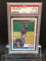 1983 Topps Traded #101T Tom Seaver - HOF - Mets - PSA 10 - GEM - 28705969 - SCA