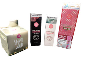 Cathy Doll Whitening Sunscreen Snail Gold Cream White & Black Heads Cleansing