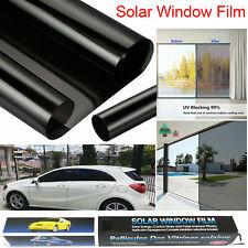 BLACK CAR VAN LIMO WINDOW TINT FILM TINTING ULTRA ROLL REDUCE SUN GLARE 3M X50CM