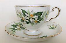 vintage TUSCAN Bridal Flower (Orange Blossom) - teacup & saucer