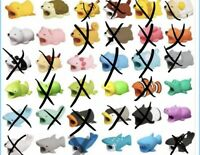 New Cartoon Animal Cable Bite Cute Phone Charger Protector Soft Cord Accessories