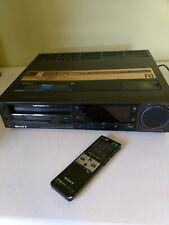 Sony Super Betamax HiFi Sl-Hf900 Stereo Video Cassette Recorder Vcr