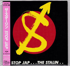 Stalin - Stop Jap CD +BONUS 2003 PRESS Michiro Endo Typhus Gauze Lip Cream Punk