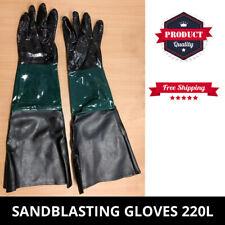 Sandblaster Sandblasting Gloves For Sand Blasting Cabinet 220L - 420L Sandblast