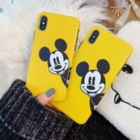 Cute Cover For iPhone Xs Max X 8 7 6 Huawei Disney Minnie Mickey Mouse Back Case