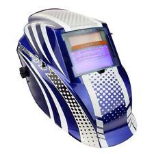 WELDFAST Tecmen Sport Auto Darkening Head Shield - Blue | WLD00169