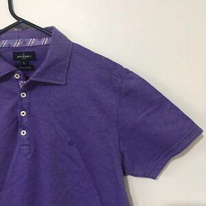 Jeff Banks Purple XL Polo Shirt
