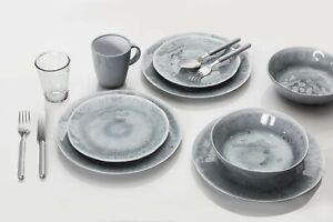 NON SLIP Porcelain PEARL MELAMINE Tableware CAMPING Disability plates Elderly