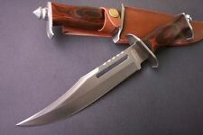 """CommonModel 12"""" Rambo III Jungle Survival Bowie knives Camp Hunting Knife 18FK28"""