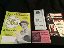 Dell o Dell Lady Magician Ephemera
