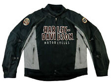 HARLEY Davidson Estate Biker Moto Giacca in nylon 52 L