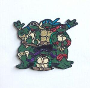 Ninja Turtle animated cartoon Badge Iron or sew on Embroidered Patch