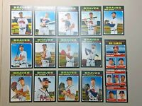 ATLANTA BRAVES 2020 TOPPS HERITAGE TEAM SET