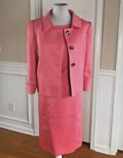 TAHARI By ASL Stunning 2 PC Pink Dress Suit Jacket Size 12