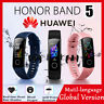 HUAWEI HONOR BAND 5 Smart Watch Wristband bluetooth 5.0 Amoled GLOBAL VERSION