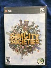 Sim City Societies PC DVD Build Artistic Societies Complexes Via Computer (2007)