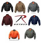 Rothco Air Force Military Reversible MA-1 Bomber Jacket Flight Coat Jacket  NEW