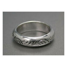 Plain Arabesque Ring Size 5 or 10 Sterling Silver .925