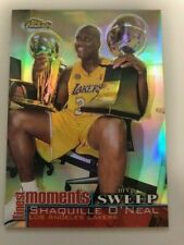 Shaquille O Neal 2000 Topps Finest Finest Moments  MVP Sweep Refractor