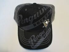 Pittsburgh Penguins NHL Hockey Zephyr cap hat Snapback Salesman Sample NWT NEW