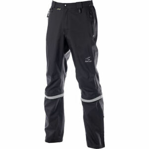 Mens Black Showers Pass Club Convertible 2 Rain Gear Cycling Pants NEW - SM
