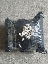 5kg Decorative White Garden Gravel Stones Pebbles Chippings Limestone