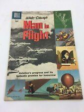 Vintage 1957 Walt Disney's Man in Flight Comic Book No. 836
