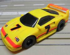 Für H0 Slotcar Racing Modellbahn ---  Ferrari F 40 mit Tyco Motor