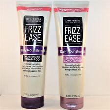 John Frieda Frizz Ease Moisturizing SHAMPOO + CONDITIONER DUO 8.45 oz Each