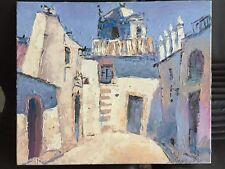 """""""Griechisches Dorf"""" - Original Gemälde v. Vladimir Smahtin 50 x 60 cm"""