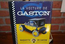 FRANQUIN AROUTCHEFF MAQUETTE EN CARTON VOITURE FIAT 509 DE GASTON LAGAFFE