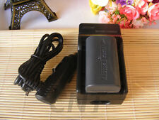Battery Charger for JVC Everio GZ-HD10/HD10U GZ-HD300/HD320 Camcorder BN-VF808