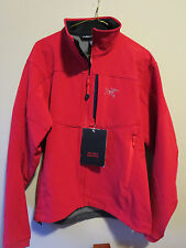 Mens New Arcteryx Gamma MX Jacket Size Small Color Diablo Red Authentic