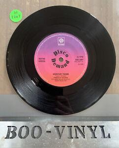Wayne Gibson – Under My Thumb Pye Records – DDS 2001 Single 1974 Northern Soul
