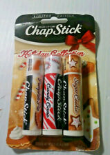 3-PACK LIMITED EDITION ChapStick FLAVORS Sugar Cookie / Candy Cane / Pumpkin Pie