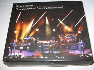 STEVE HACKETT  GENESIS REVISITED : LIVE AT HAMMERSMITH 2013 (3 CD + 2 DVD SET)