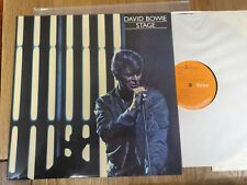 DAVID BOWIE – Stage Double Album First Pressing Vinyl LP Record