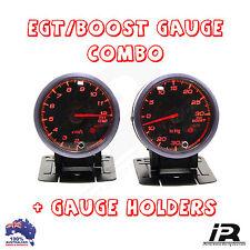 PYRO EGT EXHAUST GAS TEMPERATURE GAUGE + TURBO BOOST PSI KIT R32 R33 R34 GTR GT