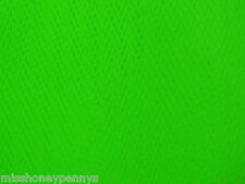 Fluorescent Neon Green 80s Fancy Dress Net Tulle Tutu Fabric Material 80s retro