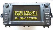 TOYOTA PRIUS GPS DVD NAV NAVIGATION JBL RADIO BLUETOOTH MP3 2010  2011