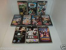 10 x Spiele / Games für Sony PSP (Need for Speed, Daxter, Ratchet & Clank, usw.)