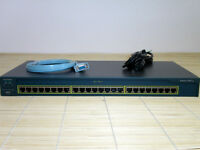 Cisco Catalyst Switch WS-C2950-24  2950 2950-24 Loud Fans/Lüfter laut